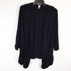XCVI Cardigan Sweater XL Open Front Split Back